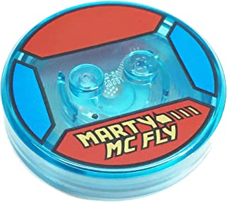 Lego Parts: Dimensions Toy Tag 4 x 4 x 2/3 with 2 Studs for Marty McFly #6
