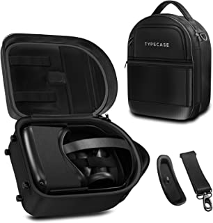 Oculus Quest Case All-in-one Carrying Case for Oculus Quest 2 VR Gaming Headsets and Controllers Accessories, Hard Protect...