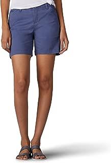 Women's Straight Fit Tailored Chino Tuxedo Short