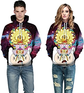 3D Printing Hoodie Women and Men Lovers Adventure time Long Sleeve Hat Clothes