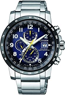 ساعة يد سيتزن للرجال من الستانلس ستيل - AT8124-91L