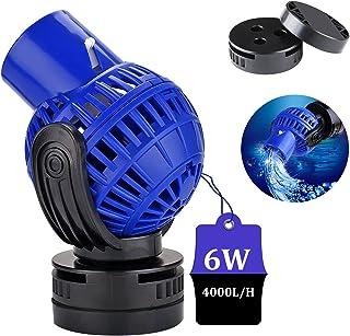 EXLECO JVP-130 Wave Maker pompa przepływowa, 4000 l/h, 6 W, obrotowa o 360°, do akwariów słodkich i słonych wody