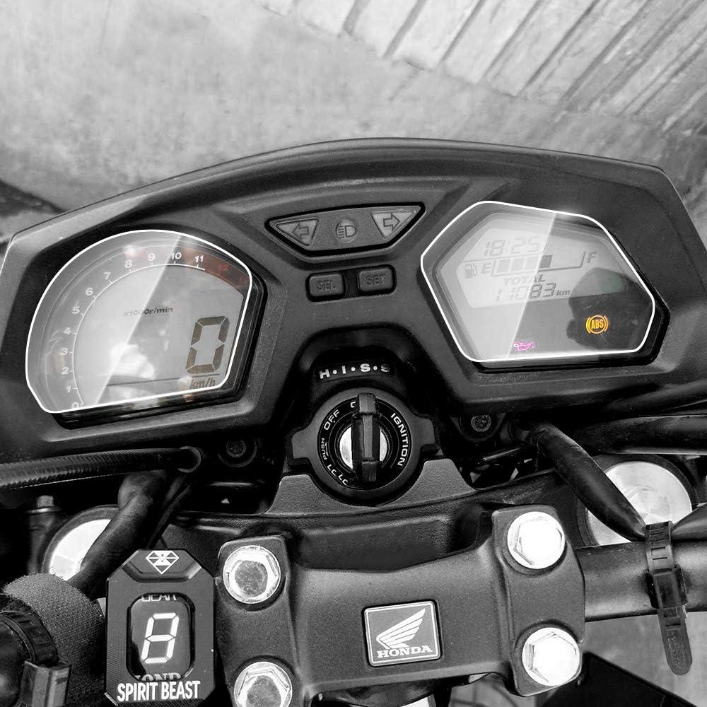 Displayschutzfolie Tachoschutzfolie Screen Protector Aufkleber Passend Für H O N D A Goldwing Gl1800 2018 2019 1 X Ultra Klar Auto