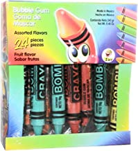 Bombi Crayon Mexican Chewing Gum 24 individually Sealed Packs in box