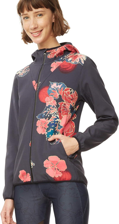 Desigual Sport Scarlet Bloom Jacket 18WOEW06