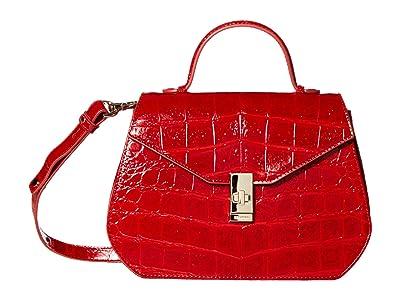 Brahmin Veil Annabeth Crossbody (Ember) Handbags