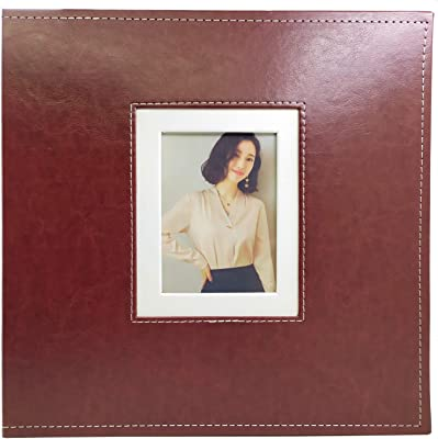 5 Per Page Horizontal and Vertical Brown AXEARTE Photo Album 4x6 Extra Large Capacity PU Leather Cover Sewn Bonded Wedding Baby Kids Memories Picture Ablums Gift for Valentines Day 600 Family Photo Album Book