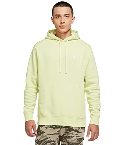 Nike NSW Club Hoodie Pullover (Limelight/Limelight/White) Men
