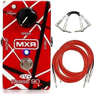 MXR EVH90 Phase 90 Eddie Van Halen Phaser Analog Guitar Effect Pedal + Cables