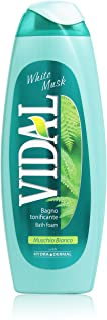 Vidal - Verkwikkende badschuim, witte muskus - 500 ml.