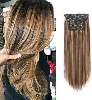 Best hair extensions brown hair Reviews