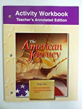 Activity Workbook Teacher's Annotated Edition The American Journey Glencoe McGraw Hill
