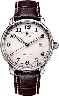 Zeppelin Montre Homme Analogique Automatique avec Bracelet en Cuir – 7656-5