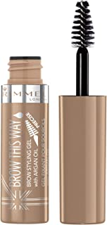 Rimmel Brow This Way Lightweight Gel, Blonde, 0.17 Fluid Ounce
