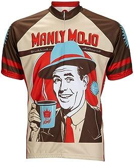 World Jerseys Men's Manly Mojo Mens Cycling Jersey