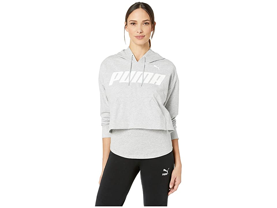 PUMA Modern Sports Hoodie (Light Grey Heather) Women