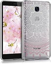 جراب كريستال لهاتف Huawei Honor 5X / GR5 من kwmobile - غطاء واقٍ من السيليكون TPU المرن الناعم - شفاف