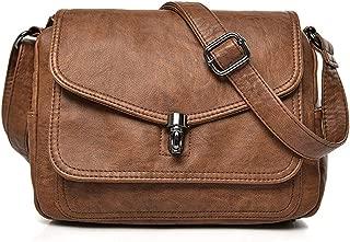 Two covers vintage women bag 2019 leather luxury handbags women bags designer female small messenger Shoulder Bag Flap