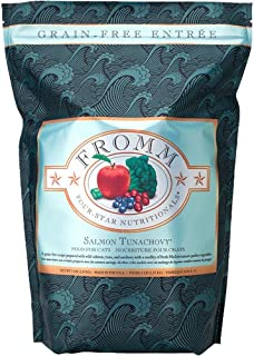 Fromm Family Foods 727671 15 Lb 4 Star Salmon Tunachovy Cat Food (1 Pack), One Size