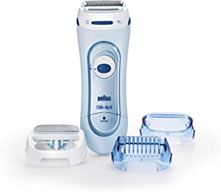 BraunBraun Silk-Epil Lady Shaver 5160 Wet & Dry Electric Shaver for Women