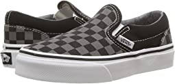 82a4e9946f9be6 (Checkerboard) Black Pewter. 1914. Vans Kids. Classic Slip-On ...