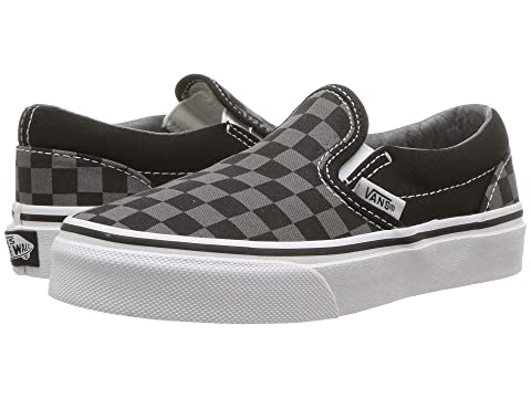 edd3783c2c3447 Vans Kids Classic Slip-On (Little Kid Big Kid) at Zappos.com