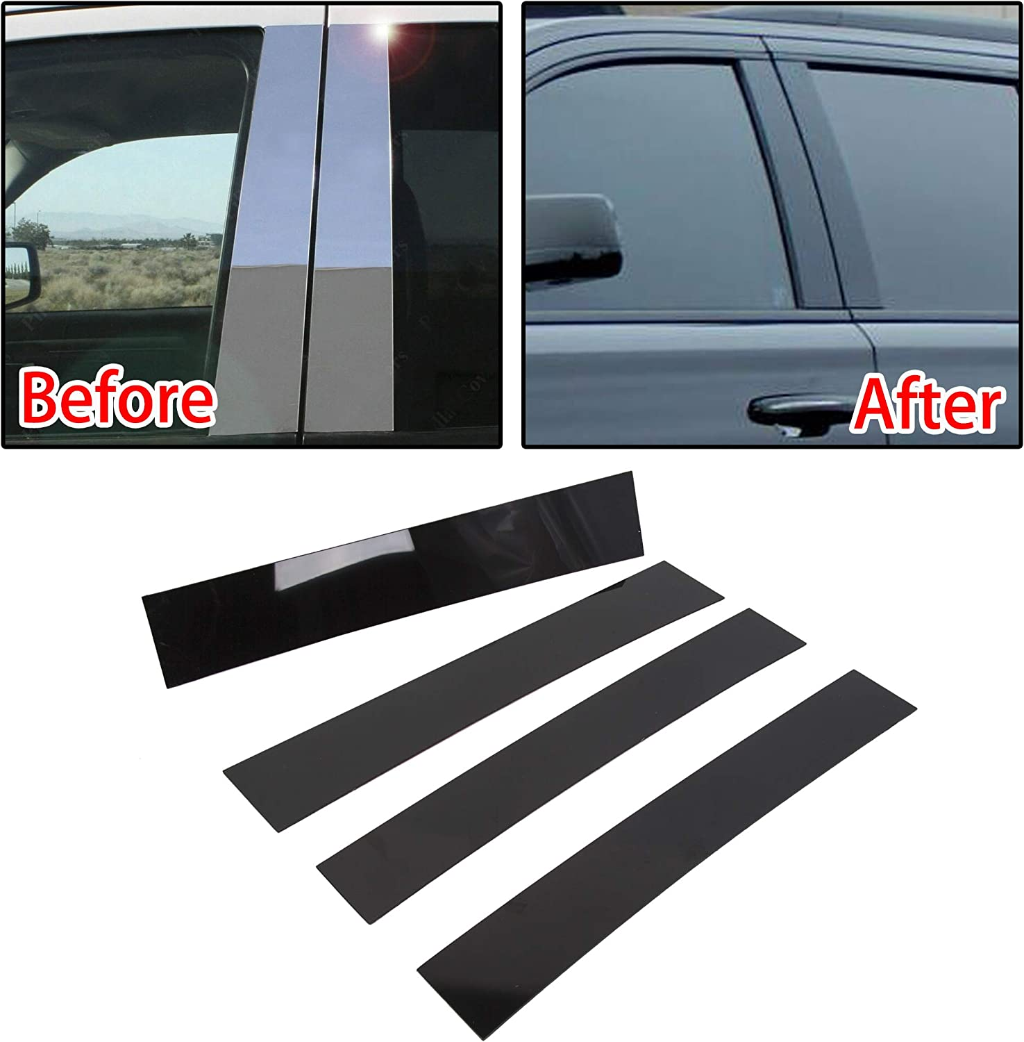ECOTRIC NewPillar Post Trim Cover Free shipping with Max 90% OFF Compatible 2007-2014
