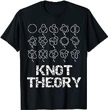 Sheldon Nerdy Knot Theory Math Physics Teacher Gift T-Shirt