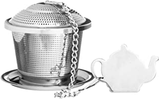 Price and Kensington Stainless Steel Specialty Novelty Infuser with Drip Tray, 2-Inches by 1-3/4-Inches