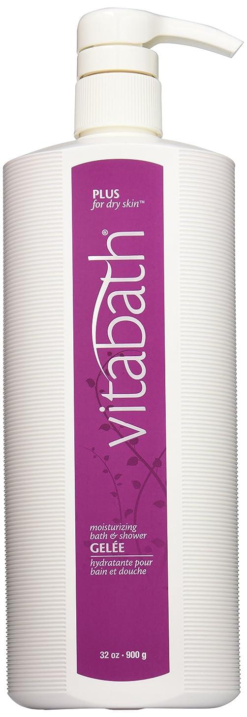 聴衆驚いたファイナンスVitabath Moisturizing Bath & Shower Gelee, Plus For Dry Skin, 32-Ounces