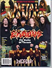 Metal Maniacs Magazine EXODUS Dream Theatre BLACK DAHLIA MURDER & DARK FUNERAL HUGE 4 PAGE POSTER Deceased W.A.S.P. December 2005 C (Metal Maniacs Magazine)