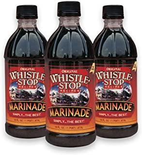 Original WhistleStop Cafe Recipes | Premium Marinade | 16-oz. Bottles | 3 Pack