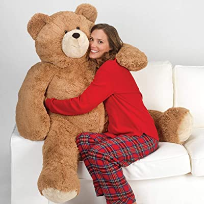 Vermont Teddy Bear - Giant Teddy Bear, 4 Ft Plu...