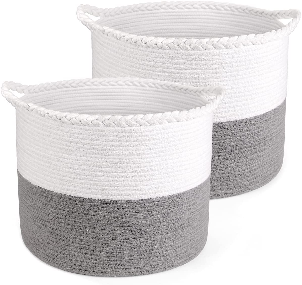 BAIST 18 x 14'' Large Cotton free Rope Laundry Storage Max 68% OFF Wo Basket