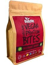 BodyMe Organic Vegan Protein Snacks Bites Raw Beetroot Berry 100 Protein Snack Bites 27 Percent Protein Gluten Free 3 Plant Proteins All Essential Amino Acids High Protein Vegan Snacks Estimated Price : £ 16,99