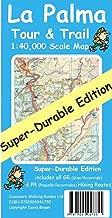 La Palma Tour & Trail Map Super-durable