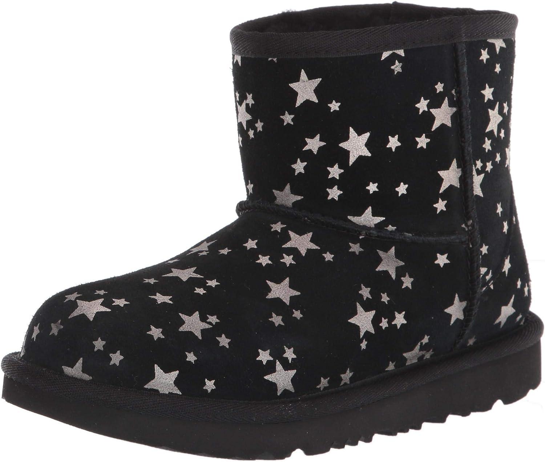 UGG Unisex-Child Classic Mini Fashion Ii Stars Boot Popular overseas High material