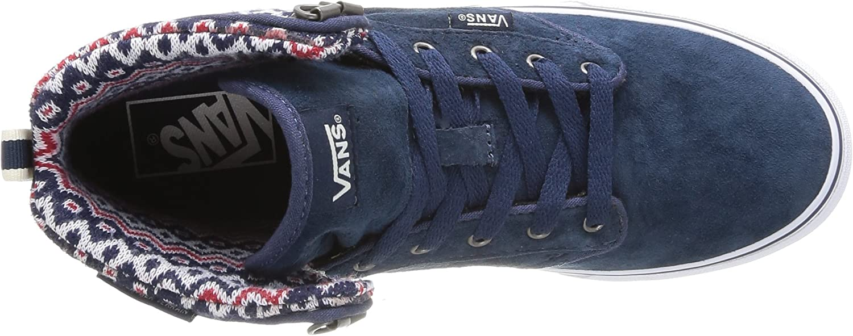 Vans W Atwood Hi, Baskets mode femme, Bleu (Navy/Off White), 36 ...