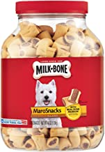 Milk-Bone MaroSnacks Dog Treats with Real Bone Marrow and Calcium, (6) 15 Oz. Boxes, All Size Dogs
