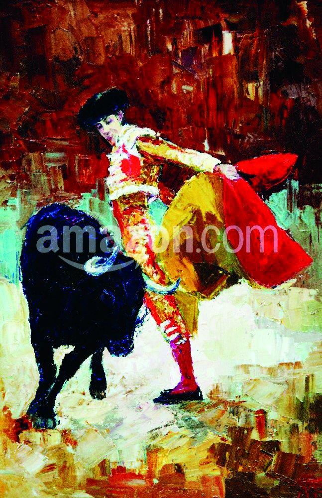 The Shutterstock Collection Corridas de Toros en España, de Pintura al óleo, Póster Impresión, 11