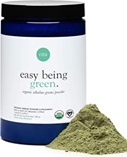 Ora Organic Easy Being Green Organic Greens Powder, Citrus, 240g