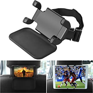 """NEARPOW Soporte Tablet Coche, Universal Soporte Reposacabezas Rotación 360° con Velcro, Soporte para Reposacabezas de Coche para 4.7-12.9"""" iPad Air/Mini/Pro Samsung Galaxy Tabs"""
