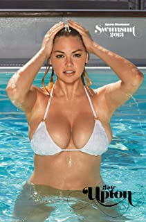 "Trends International Sports Illustrated: Swimsuit Edition - Kate Upton 13 Wall Poster, 14.725"" x 22.375"", Premium Unframed"
