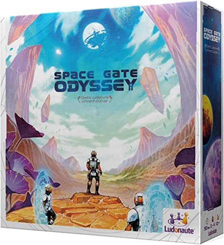 Asmodee- Space Gate Odyssey, Farbe (LUSGO01SP)