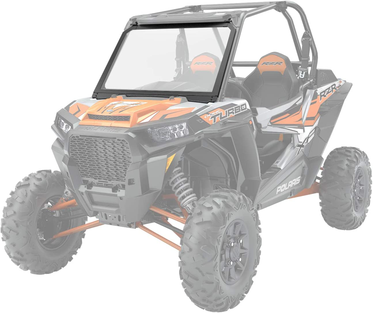 Polaris Year-end annual account RZR XP 1000 XP4 S4 900 S 28831 Max 57% OFF - Vented Glass Windshield