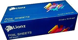 Aluminum Foil Sheets - 500 Pop Up Foil Sheets for Food Measuring 12 X 10.75 Inches- Tinfoil Wraps for Restaurants, Delis, ...