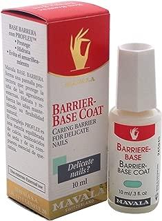Mavala Base Coat, Barrier for Sensitive, Delicate, and Dry Nails, 0.3 Fl Oz