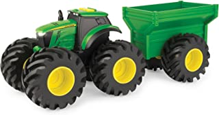 John Deere Monster Treads Tractor with Wagon & Lights and Sounds, Green (46260)