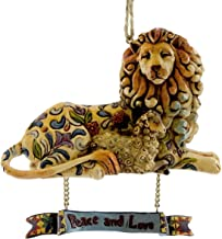 Peace and Love Hanging Ornament