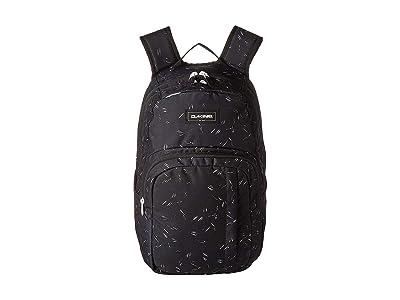 Dakine 25 L Campus Medium Backpack (Slash Dot) Backpack Bags